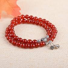 red crystal bracelet images Crystal natural red agate bracelet women fashion crystal bracelet jpg