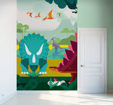 Poster Wallpaper For Bedrooms Dinosaur Wallpaper Oversized Wall Murals For Boys Room