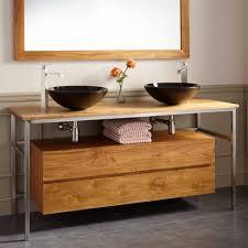 Small Double Sink Vanities Bathroom 60 Bathroom Vanity Single Sink Double Square Sink