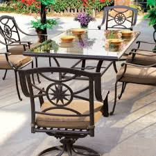 Wrought Iron Outdoor Table Chairs Furniture Black Wrought Iron Patio Furniture With Rectangle Patio