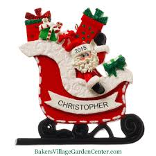Christmas Decoration With Santa Claus by Personalized Ornaments Christmas
