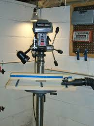 best drill press table attaching table to porter cable drill press by hightide