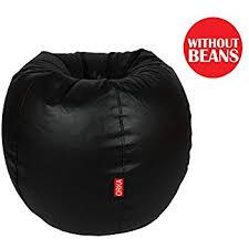 Xxl Bean Bag Chair Orka Xxl Bean Bag Cover Brown And Black Amazon In Home U0026 Kitchen