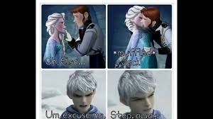 jack frost queen elsa prince hans comic youtube