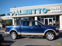 f150 ford lariat supercrew for sale 2008 ford f150 lariat supercrew 4x4 in blue pearl metallic
