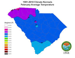 Weather Map New England by South Carolina State Climatology Office