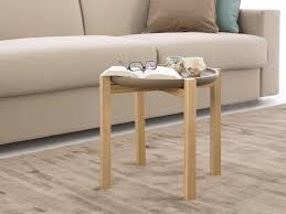 bonnie round coffee table with detachable tray homeplaneur