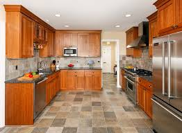 porcelain tile that looks like slate kitchen with none