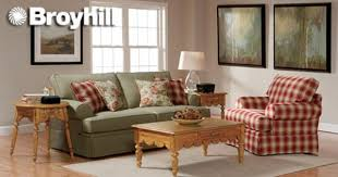 Living Room Elegant Plaid Living Room Furniture Broyhill Loveseat - Broyhill living room set