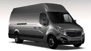 opel van opel movano l4h3 van 2016 3d model vehicles 3d models opel movano
