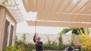 How To Make Awnings How To Make Shade On Your Patio Ehow Youtube