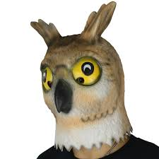 owl mask animal owl mask for pgm h16008 partygears
