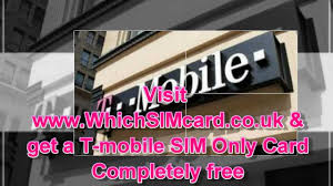 t mobile sim card only deals and contracts pay as you go and