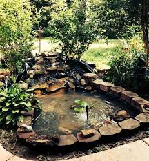 hand dug pond finished in a weekend hometalk