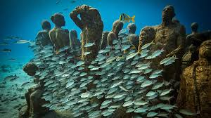 jason decaires taylor an underwater art museum teeming with life