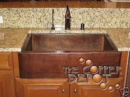 Copper Kitchen Sink Faucet Kitchen Fine Looking Copper Kitchen - Copper sink kitchen