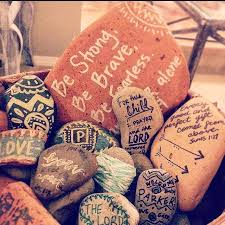 Baby Verses For Baby Shower - blessing stones indian baby shower boho verses for