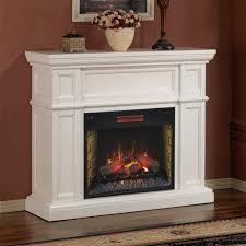 fresh kristine white antique electric fireplace 8858