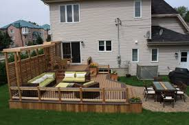 Deck Patio Designs Lovely Small Backyard Decks Patios Chic Deck And Patio Ideas