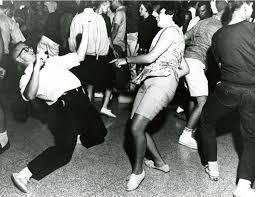 informal dancing 1960s