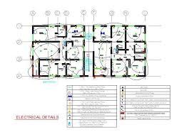electrical plan apartment block electrical plan cad dwg cadblocksfree cad