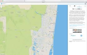 Boca Raton Florida Map by Mit Map Offers Real Time Crowd Sourced Flood Reporting During