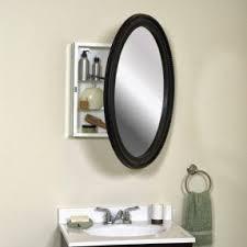 Recessed Medicine Cabinet Mirror H Recessed Medicine Cabinet In Recessed Oval Medicine Cabinet Foter