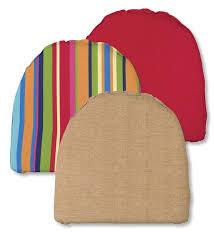 polyester chair cushion outdoor cushions plow u0026 hearth
