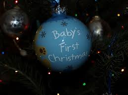 Baby S First Christmas Bauble M S by December 2008 We Love Dc