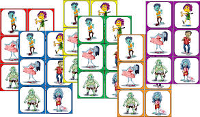 zombie party game for kids printable scavenger hunt