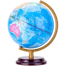 usd 44 42 deli 2184 globe hd students with ornaments large world