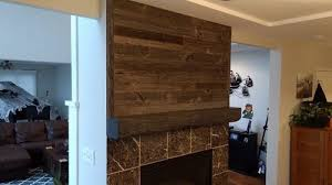 reclaimed wood wall all grey the barn store