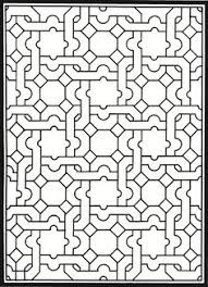 pattern coloring pages for adults creative haven tessellation patterns coloring book dover