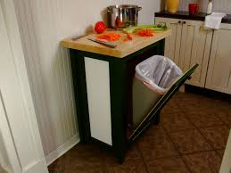 Kitchen Island With Garbage Bin Kitchen Trash Bins