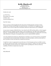 cover letter template for administrative position trend cover