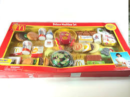 Deluxe Kitchen Play Set by Huge Mcdonald Deluxe Mealtime 50 Pieces Play Set Youtube