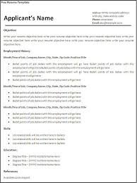 create and print free resume resume template and professional resume
