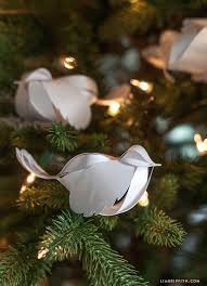 White Bird Christmas Decorations by Best 25 Paper Birds Ideas On Pinterest How To Do Origami