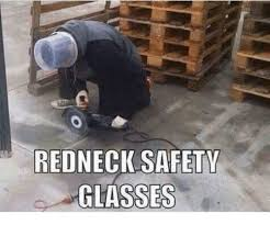 Funny Safety Memes - red safety glasses meme on me me