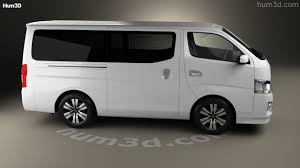 nissan caravan 2014 360 view of nissan nv350 caravan 2012 3d model hum3d store