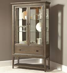 China Cabinets With Glass Doors American Drew Park Studio Contemporary Curio China Cabinet With 2