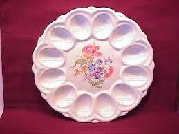 vintage deviled egg plates antiques vintage