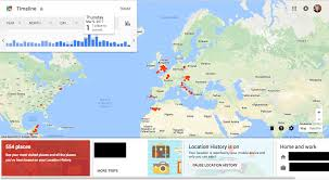 Italy Google Maps by Create A Heat Map From Your Google Location History In 3 Easy Steps