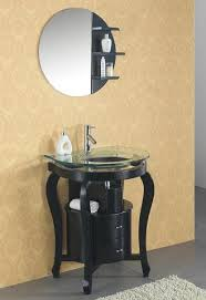 Black Distressed Bathroom Vanity Homethangs Com Introduces A Buyer U0027s Guide To Little Black Bathroom