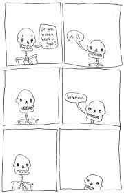 21 punny skeleton comics that will tickle your funny bone