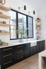 modern kitchen black cabinets the forest modern kitchen q a the house of silver