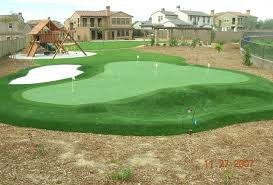 Backyard Golf Green by Backyard Putting Greens Contemporary Landscape Other By