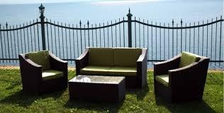 henryka 4 piece conversation patio set grey walmart canada