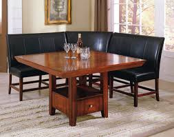 leather breakfast nook furniture varyhomedesign com