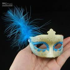 feather masks new mini feather mask venetian masquerade party decoration